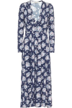 LOVESHACKFANCY Min floral midi dress
