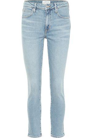 SLVRLAKE Lou Lou high-rise cropped jeans