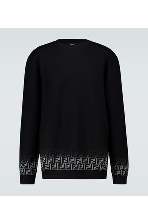 Fendi FF Degraded knitted sweater