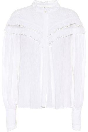 Isabel Marant, Étoile Izae cotton-blend blouse