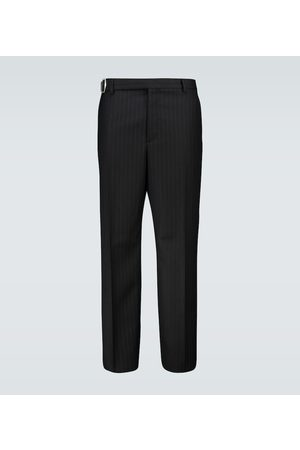 VALENTINO Pinstriped wool pants