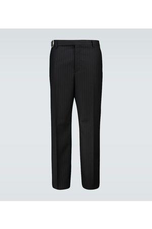VALENTINO Pinstriped wool pants