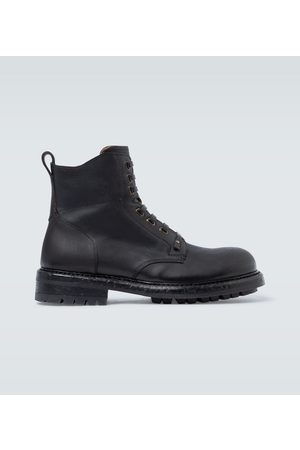 Dolce & Gabbana Stivaletto Vitello lace-up boots
