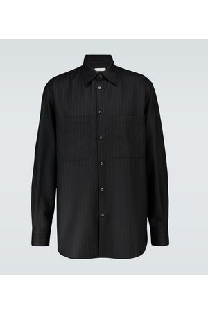 VALENTINO Pinstriped band shirt
