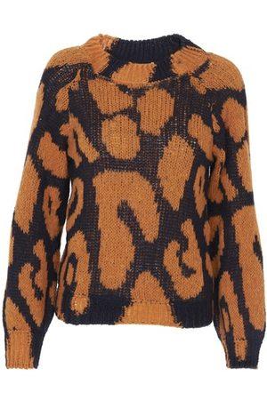 Stella McCartney Women Sweaters - Big Leopard sweater
