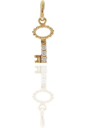 GIGI CLOZEAU Women Necklaces - 18kt yellow diamond key charm
