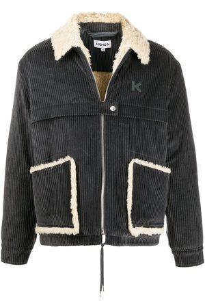 Kenzo Corduroy shirt jacket - Grey
