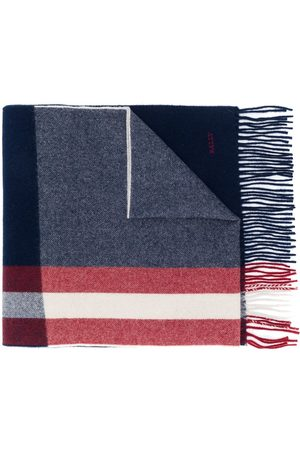 Bally Striped fringed scarf