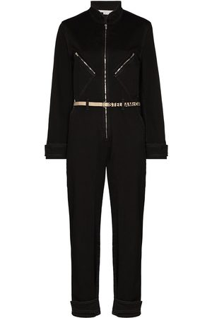 Stella McCartney Women Jumpsuits - Stella Logo denim jumpsuit