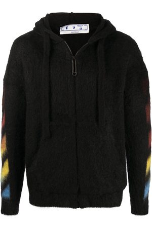 OFF-WHITE Arrows-motif textured hoodie