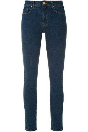 AMAPÔ Rocker Nancy jeans - AZUL