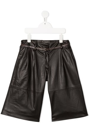 Lapin House Belted casual trousers