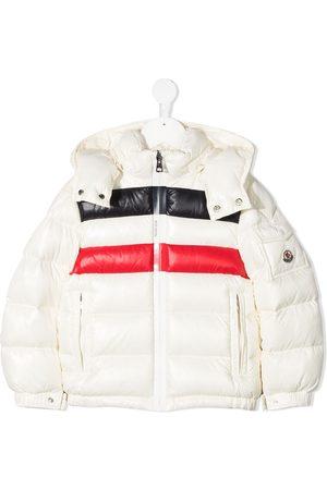 Moncler Boys Puffer Jackets - Colour-block padded jacket