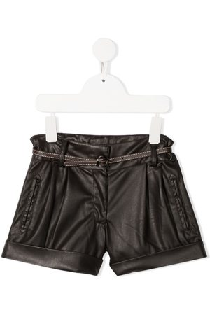 Lapin House Faux leather shorts