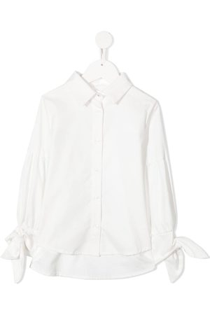 Lapin House Girls Shirts - Tied cuffs shirt