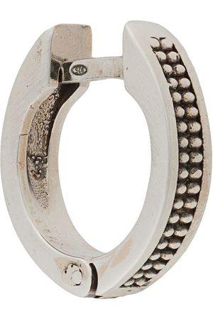 Emanuele Bicocchi Hoop - Dotted textured hoop earring