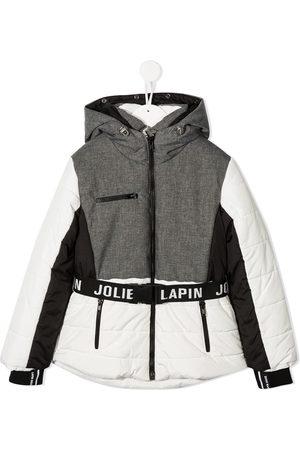 Lapin House Panelled padded jacket