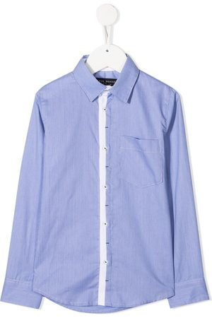 Lapin House Contrasting placket shirt
