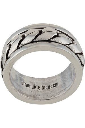 Emanuele Bicocchi Rings - Woven-effect band ring