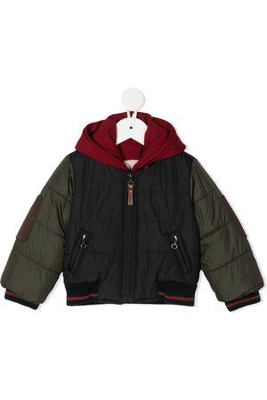 Lapin House Bomber Jackets - Patchwork applique bomber jacket