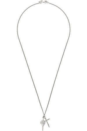 Emanuele Bicocchi Necklaces - Cross-pendant long necklace