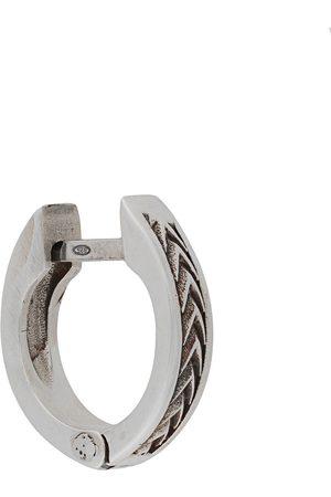 Emanuele Bicocchi Hoop - Arrows textured hoop earring