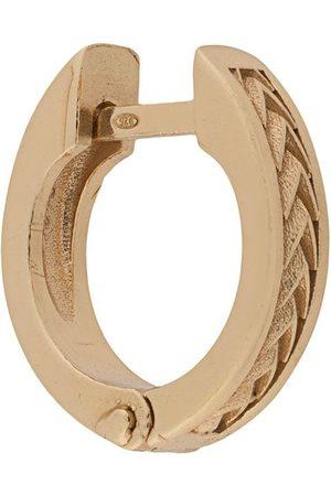 EMANUELE BICOCCHI Hoop - Singular textured hoop earring