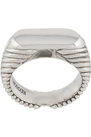 EMANUELE BICOCCHI PLA4 band ring - Metallic