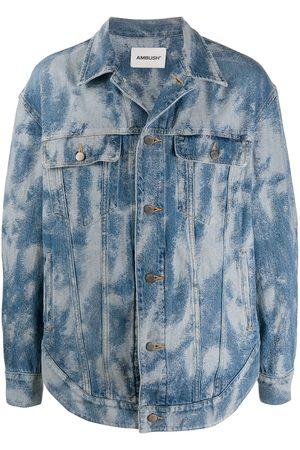 AMBUSH Bleached-effect denim jacket