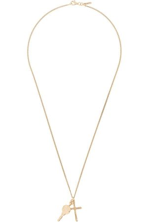 EMANUELE BICOCCHI Necklaces - Cross pendant chain necklace
