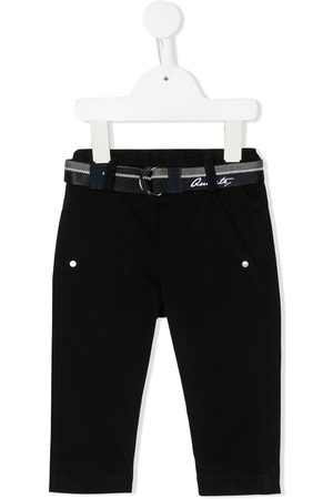 Lapin House Belted pull-on jeans