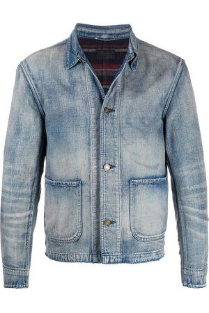 Saint Laurent Faded denim jacket
