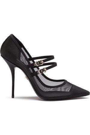 Dolce & Gabbana Cardinale mesh-detail pumps