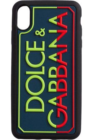 Dolce & Gabbana Men Phones Cases - Embossed logo iPhone XS Max case