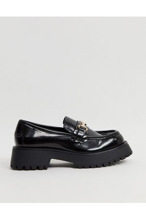 ASOS Monster chunky loafers in