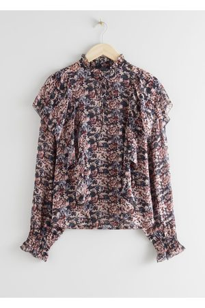& OTHER STORIES Ruffled Overlay Blouse
