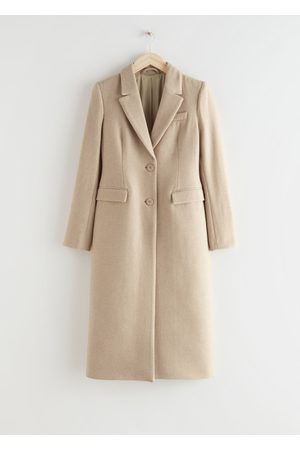 & OTHER STORIES Hourglass Wool Blend Coat