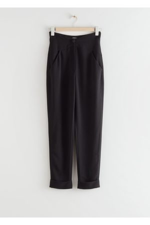 & OTHER STORIES Tapered High Waist Trousers