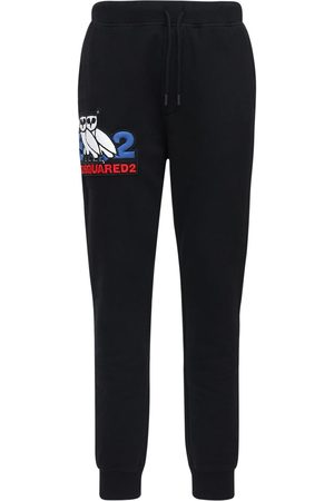 Dsquared2 Men Sweatpants - Ovo Capsule Printed Jersey Sweatpants