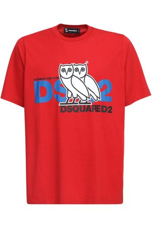 Dsquared2 Ovo Capsule Logo Print Jersey T-shirt