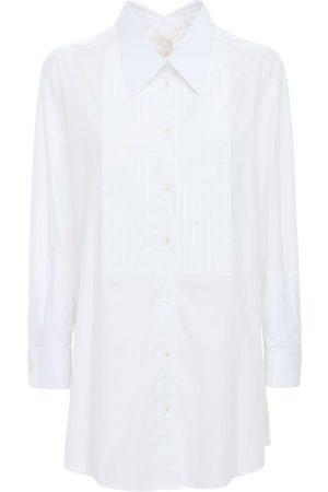 Dolce & Gabbana Oversize Cotton Poplin Shirt