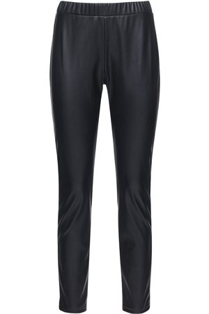 Max Mara Faux Leather Leggings