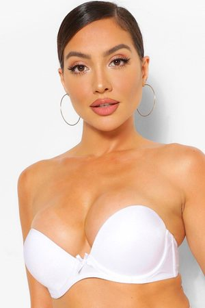 Boohoo Womens Super Push Up Strapless Bra - - 38C
