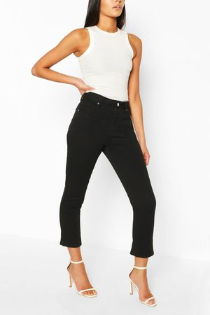 Boohoo Womens High Rise Mom Jean - - 2