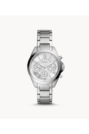 Fossil Women's Modern Courier Midsize Chronograph Stainless Steel Watch