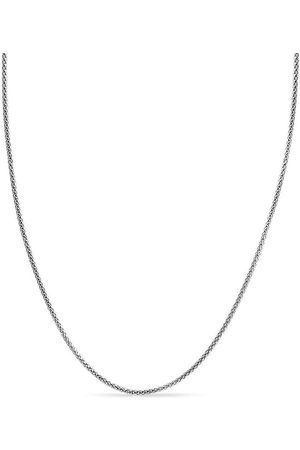 SuperJeweler 925 Sterling 3.5mm Popcorn Chain Necklace
