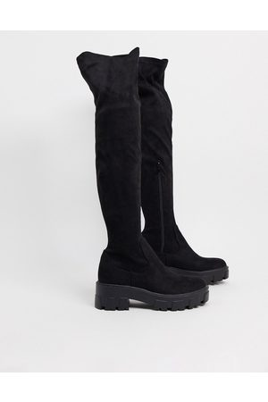 Raid Pierra chunky over the knee boots in
