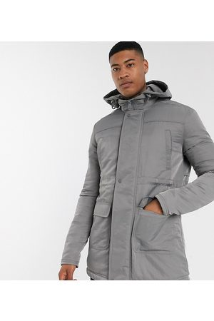ASOS Tall hooded jacket in