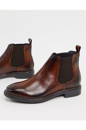 Base London Men Chelsea Boots - Seymour chelsea boots in leather