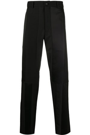 Comme des Garçons Men Straight Leg Pants - Panelled straight-leg trousers